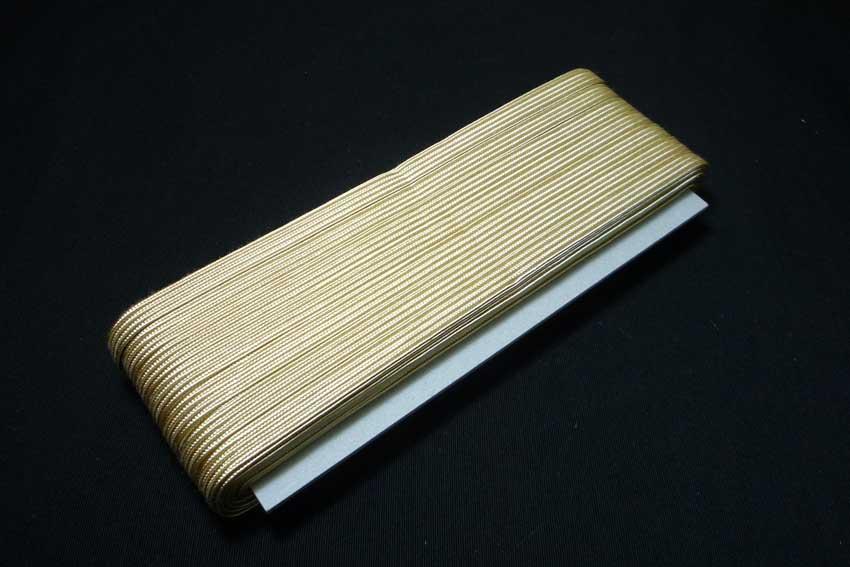 画像1: 表具用紐【薄茶】中90尺(30m) (1)