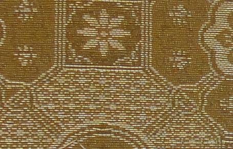 画像1: 銅玄裂・箔入緞子 (1)