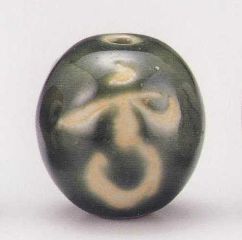 画像1: 清水焼 オリベ雪月花