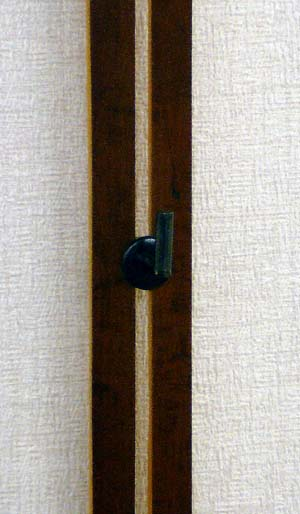 画像: 自在吊り棒 煤竹(すすたけ)