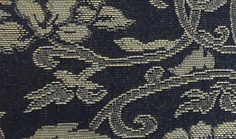 画像1: 銅玄裂・箔入緞子